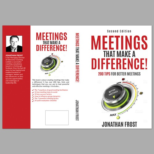 Brilliant book cover needed for a popular business book