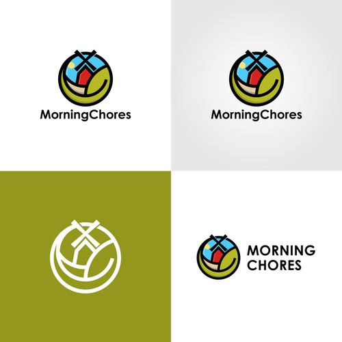 Logo For MorningChores