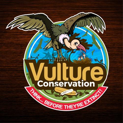 Vulture Conservation Logo