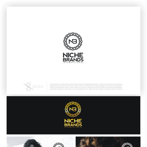 Luxurious and Bold logo & biz card design needed for Niche Brands International!