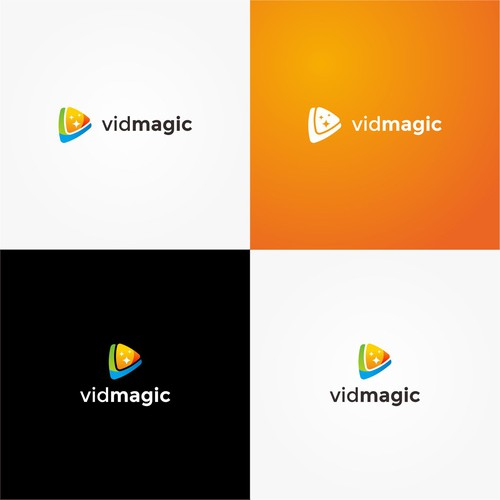 V Letter Logo for Vidmagic