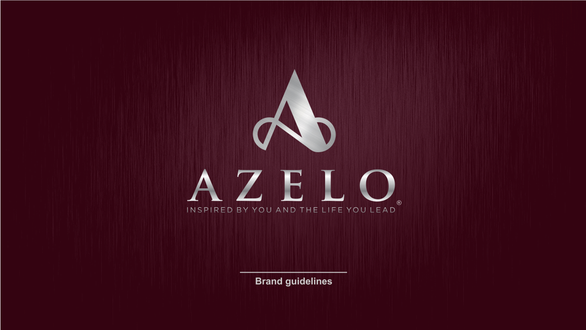 Brand Guide Fix for Azelo