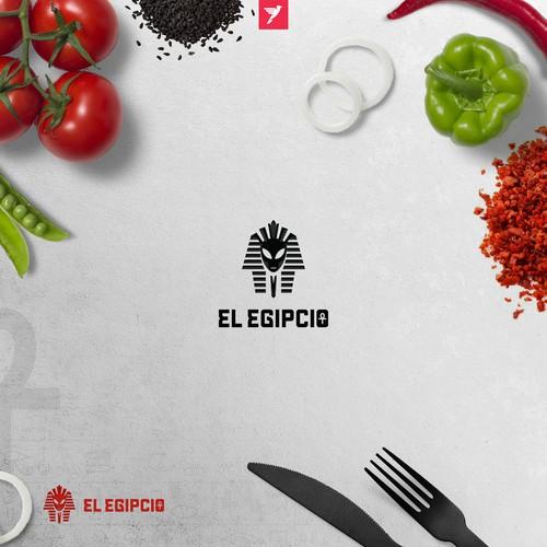 El Egipcio branding