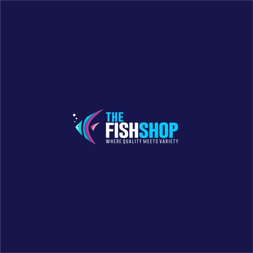 Bold Logo For Your Great Fish Shop