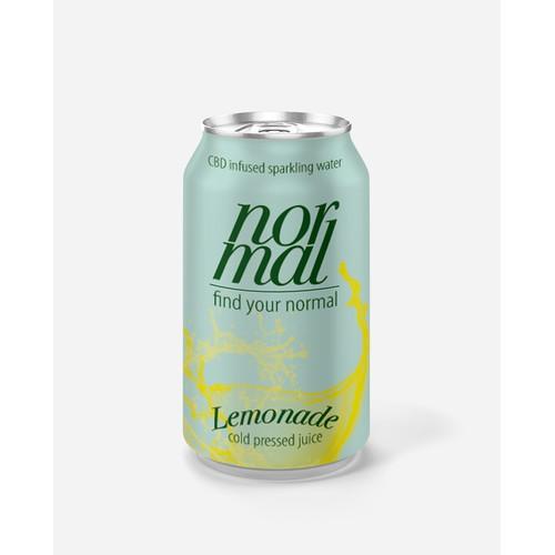 Label for a lemonade