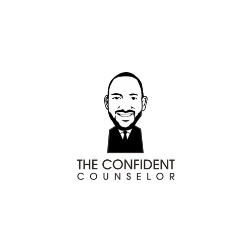 the confident concept logo