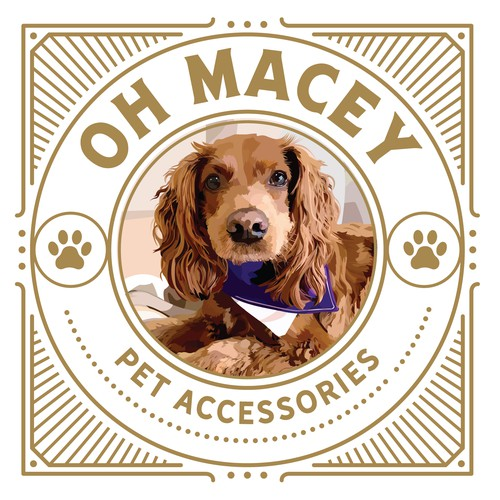 Oh Macey Pet Accessories Logo
