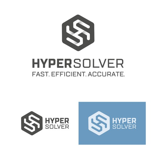 HyperSolver Monogram Logotype