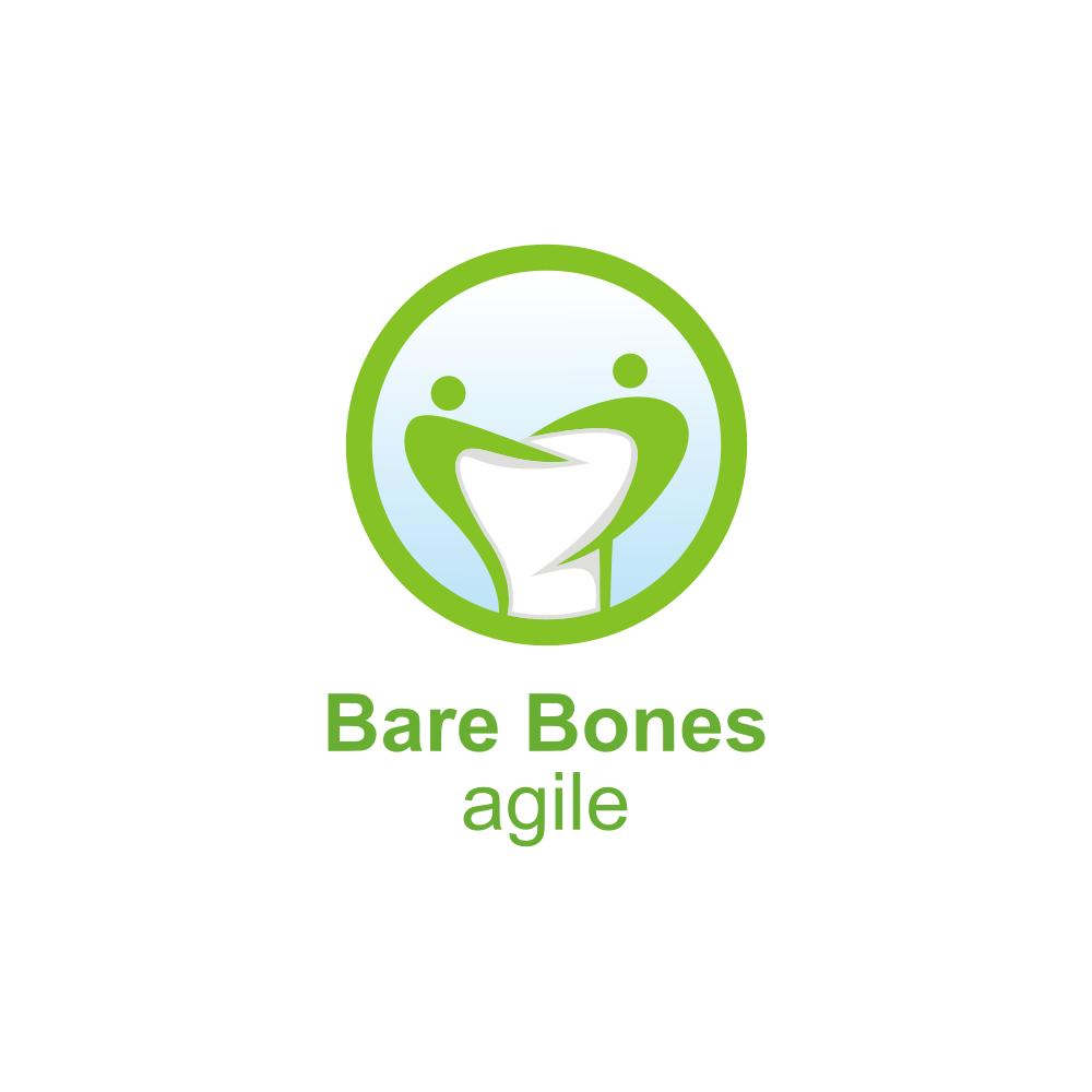 Create a powerful logo for bare bones agile