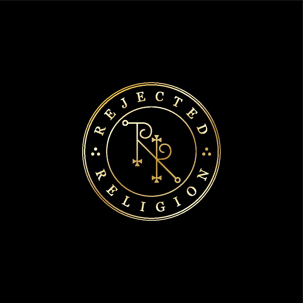 Design a sigil-like logo for Rejected Religion's website and podcast