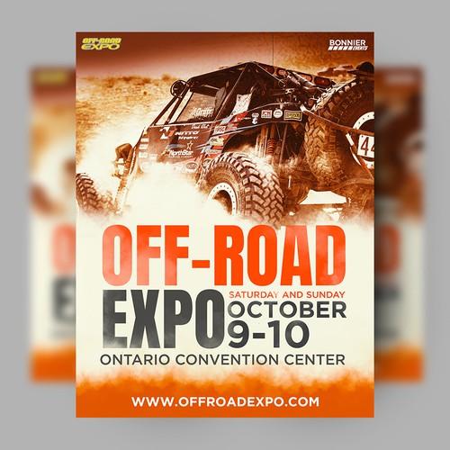 Off Road Event Poster Design