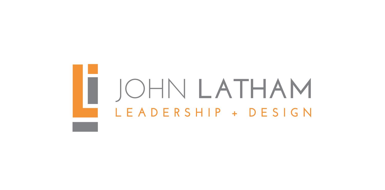 Create a logo for John Latham a leadership + design researcher, writer, teacher, consultant