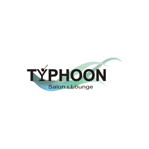 logo for Typhoon Salon - Lounge