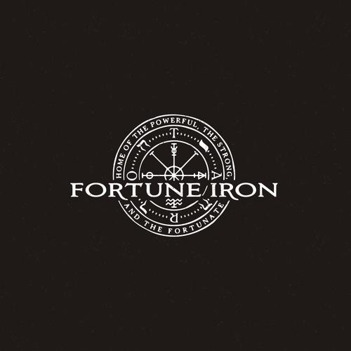 Wheel of Fortune Fitness Logo