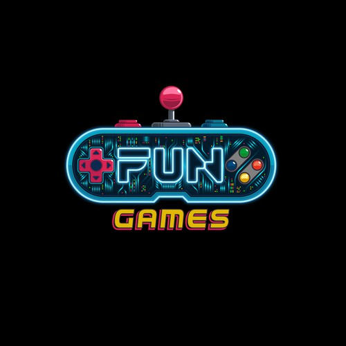 Logo Concept for arcade room