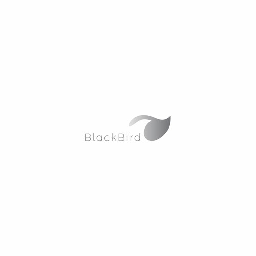 logo concept for blackbird skincare