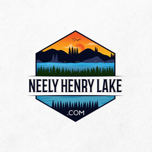 Neely Henry Lake.com Logo that's attractive about lake living