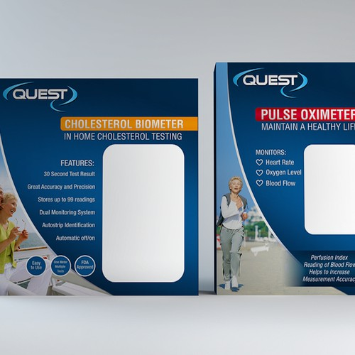 Looking for a New Packaging for Quest Diagnostic Monitors