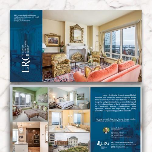 Luxury Real Estate Postcard