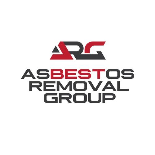 Asbestos Removal Group logo concept