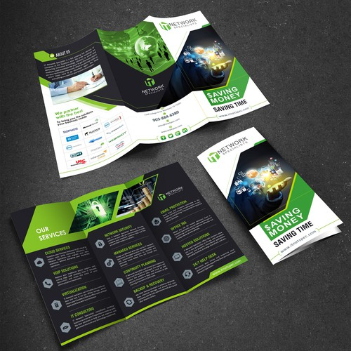 Information Technology company brochure