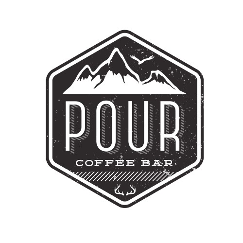 Pour your talent into creating a logo for Pour Coffee.