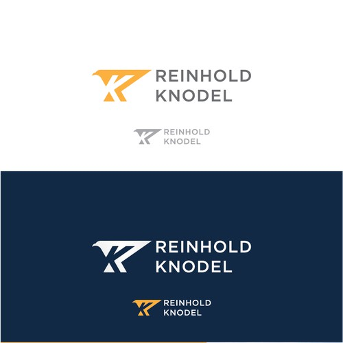 the logo concept is R + K + eagle + speed.