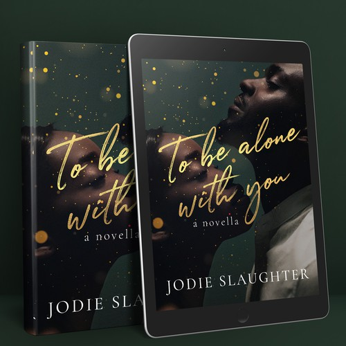Modern and feminine cover design for a contemporary romance book