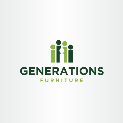 Logotipo ganador para Generations Furniture