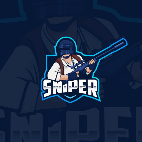 emblem logo for sniper gaming team