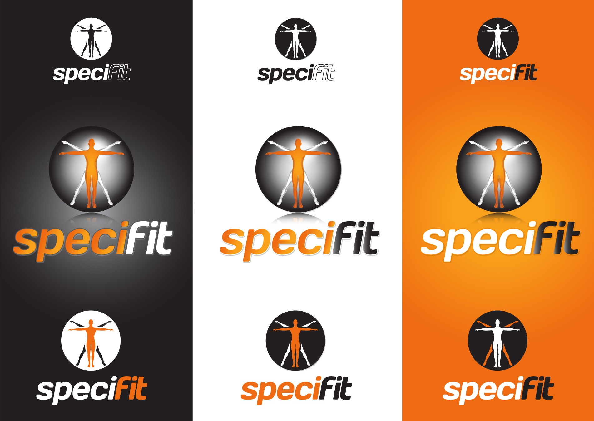 Design the Specifit Corporate Logo - Boutique Fitness and Health