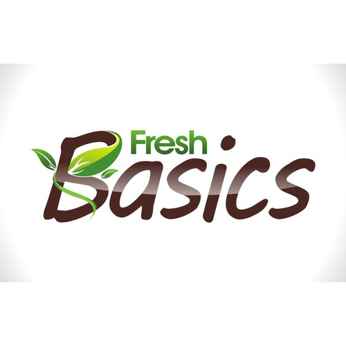 create a fresh logo for fresh basics