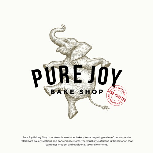 Pure Joy Bake Shop logo update