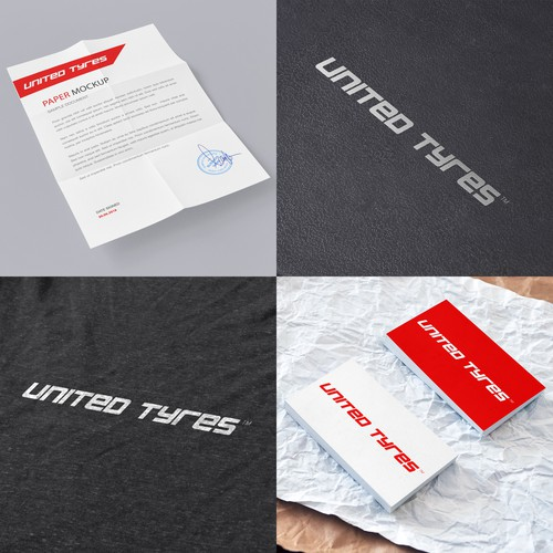 "Logo concept for ""United Tyres"""
