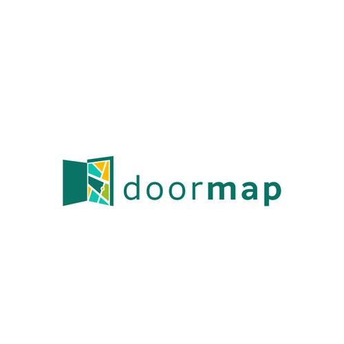 Doormap logo concept.