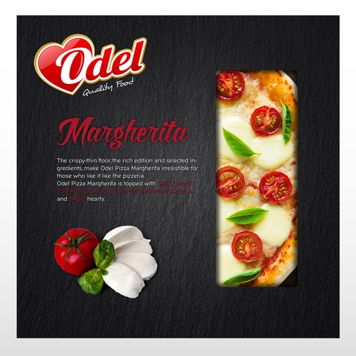 Packaging Design for a pizza box