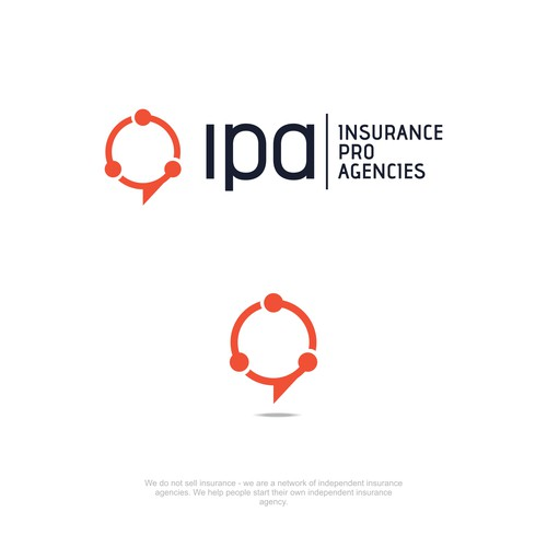 Network consultancy logo concept for IPA