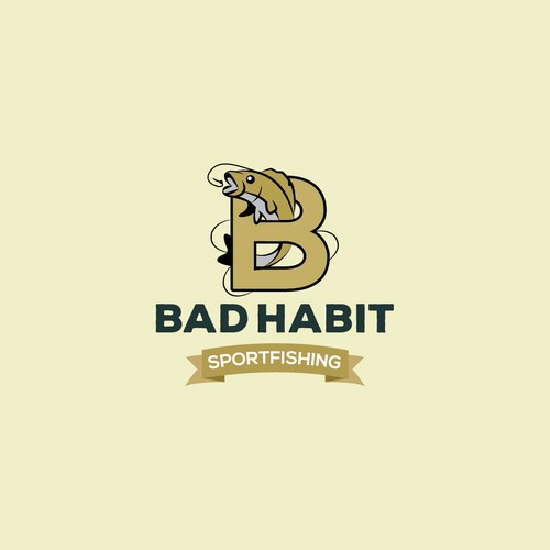 Bad Habit Logo Design