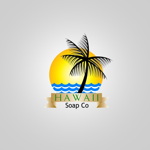 Design a new logo for Hawaii based soap company!