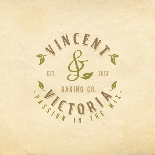 logo for Vincent & Victoria Baking Co.
