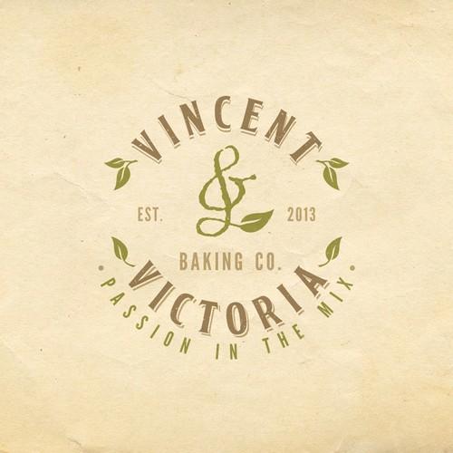 logo for Vincent & Victoria Baking Co.