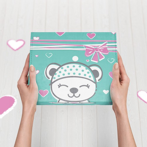 Baby Gift Box Packaging design