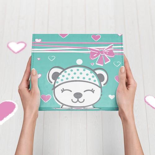 Baby Gift Box Packaging design