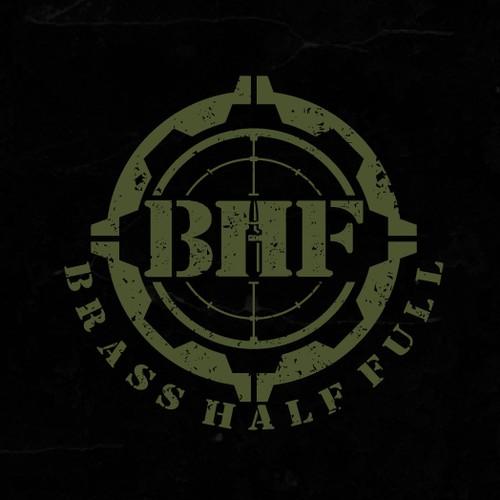 Logo design for BRASS HALF FULL