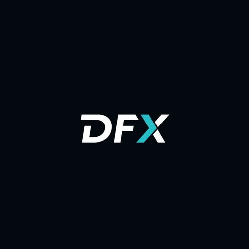 Flat sophisticated logo for deliverable fx provider