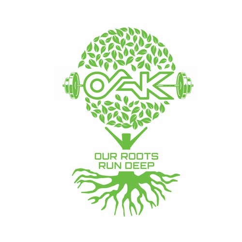 OAK logo design
