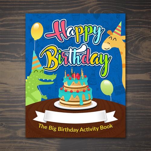 Happy Bithday Color Book (Boy)
