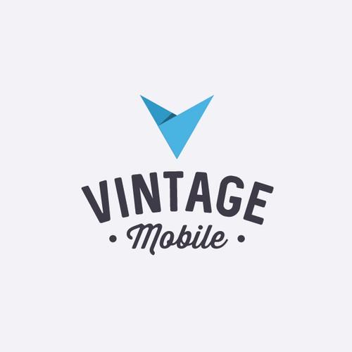 Créer un nouveau logo pour notre site VINTAGE MOBILE