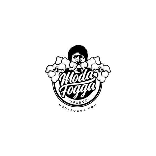 Moda Fogga Vapor Co. Logo