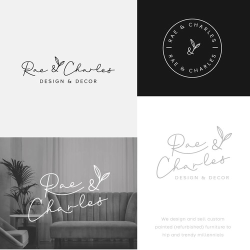 logo for  refurbished furniture manufacturer